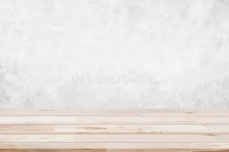 Plan de travail, texture naturelle en pierre de marbre blanche ou gris-clair de mur brouillé par perspective avec la conception e images libres de droits