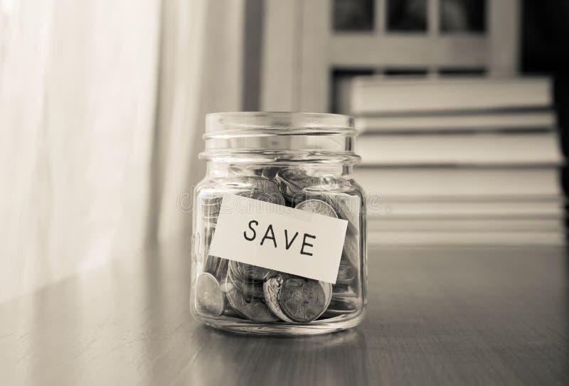 Plan del ahorro del dinero foto de archivo libre de regalías