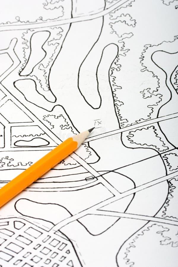 Plan et crayon lecteur