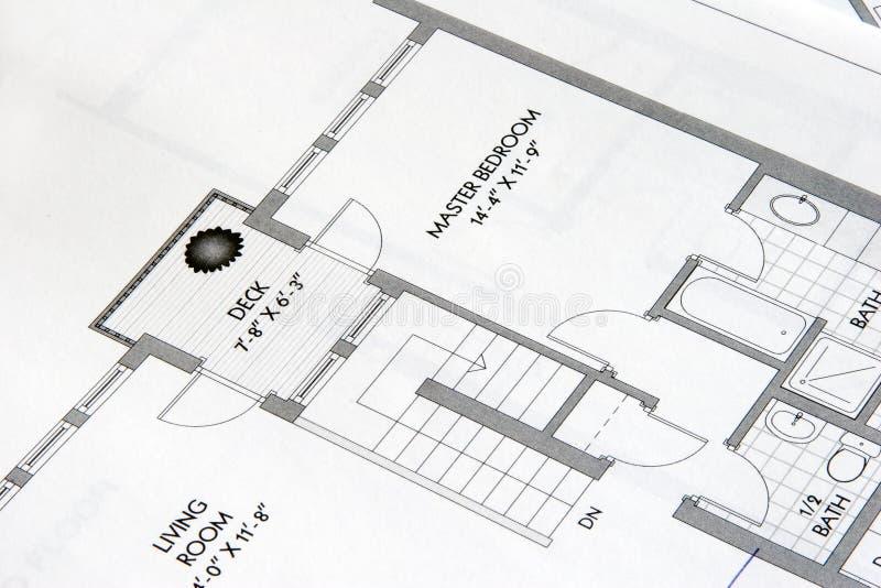 plan för 3 teckningar arkivbild