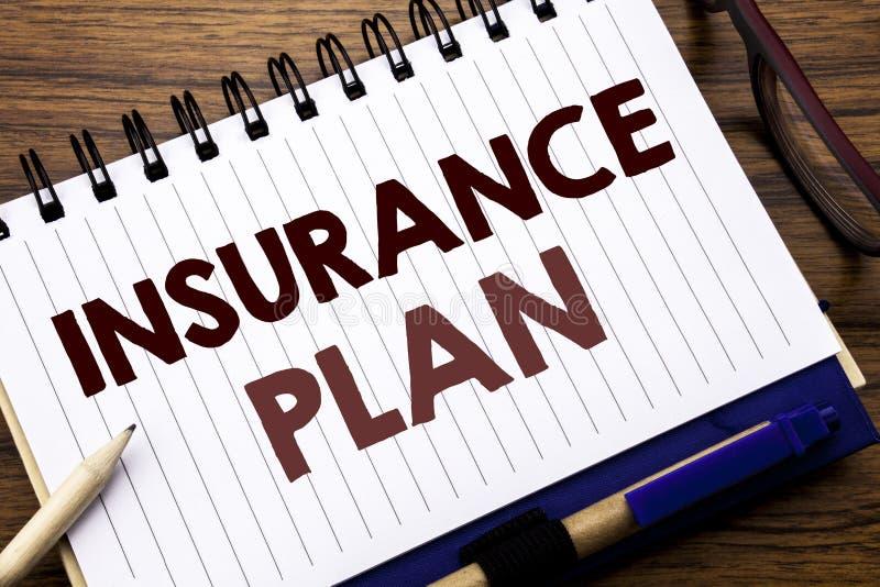 Plan för försäkring för visning för inspiration för överskrift för handhandstiltext Affärsidé för vård- liv försäkrat skriftligt  arkivfoton