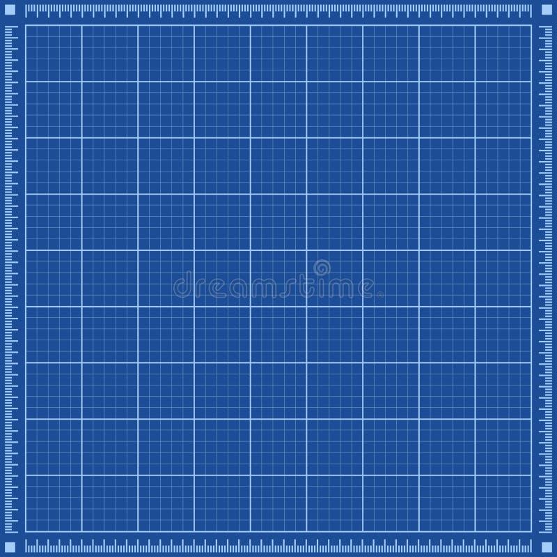 Plan-Hintergrund stock abbildung