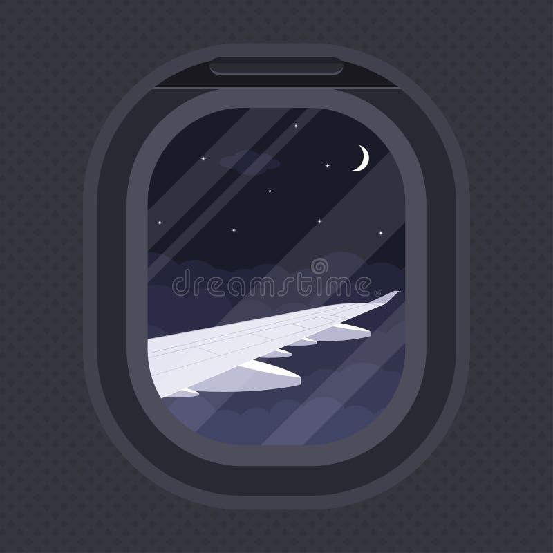 Plan illuminationsenhet vektor illustrationer