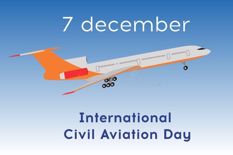 plan illustration för flygplan royaltyfri illustrationer