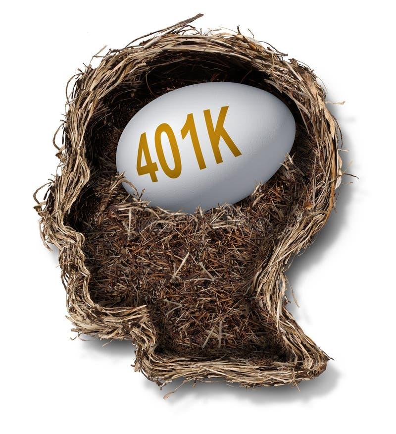 plan 401k illustration de vecteur