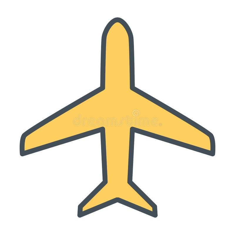 Plan linje symbol Enkel minsta Pictogram 96x96 för vektor stock illustrationer
