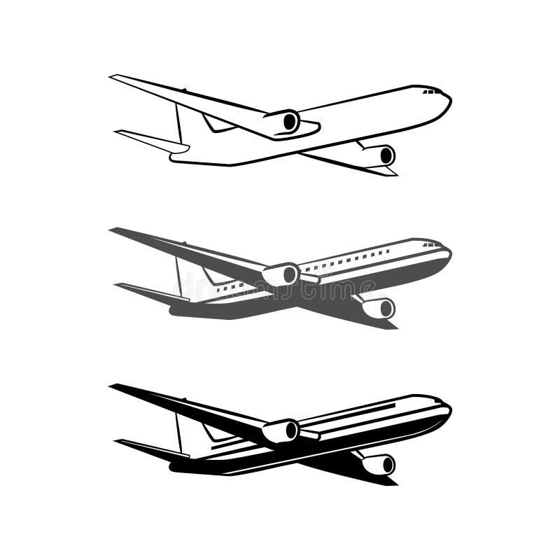 Plan logo vektor illustrationer