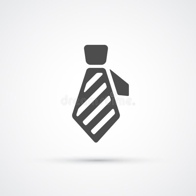 Plan moderiktig symbol f?r slips vektor vektor illustrationer