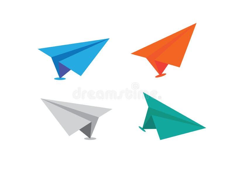 Plan pappers- vektor arkivfoton
