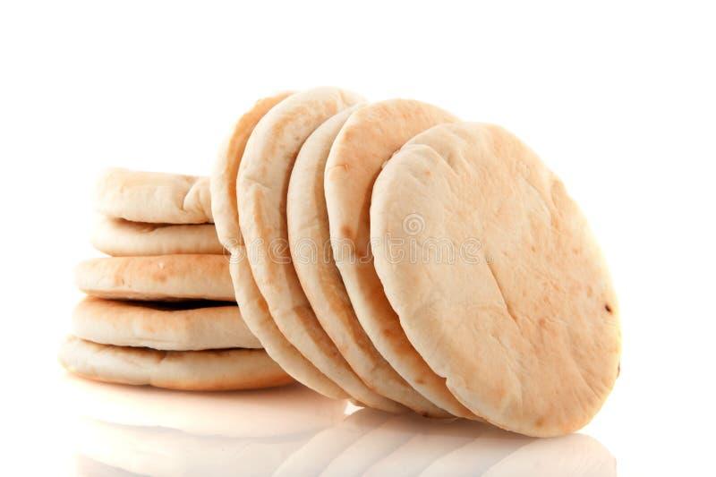 plan pita för bröd royaltyfri fotografi