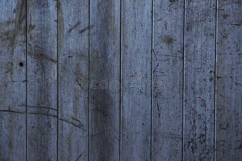 Plan rapproché abstrait d'un vieux mur lambrissé par bois superficiel par les agents photos stock