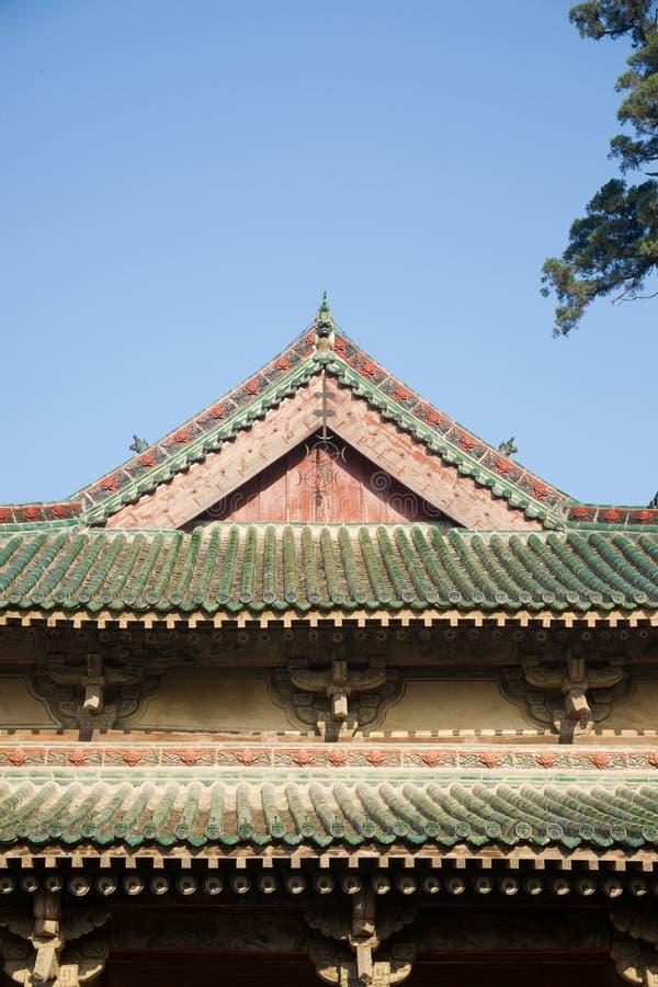 Plan rapproché chinois de construction historique image stock