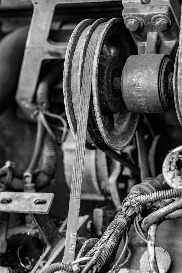 Plan rapproché d'élément de moteur photos stock