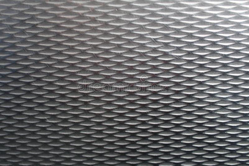 Plan rapproché d'acier texturisé photographie stock