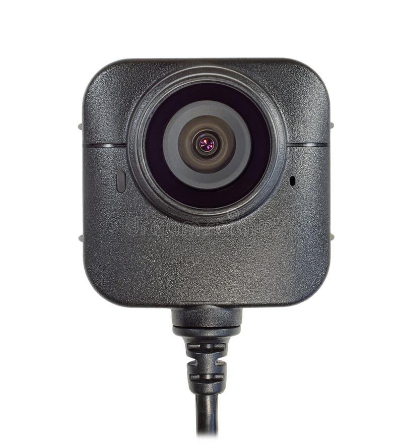 Plan rapproché d'appareil-photo de corps de lentille images libres de droits