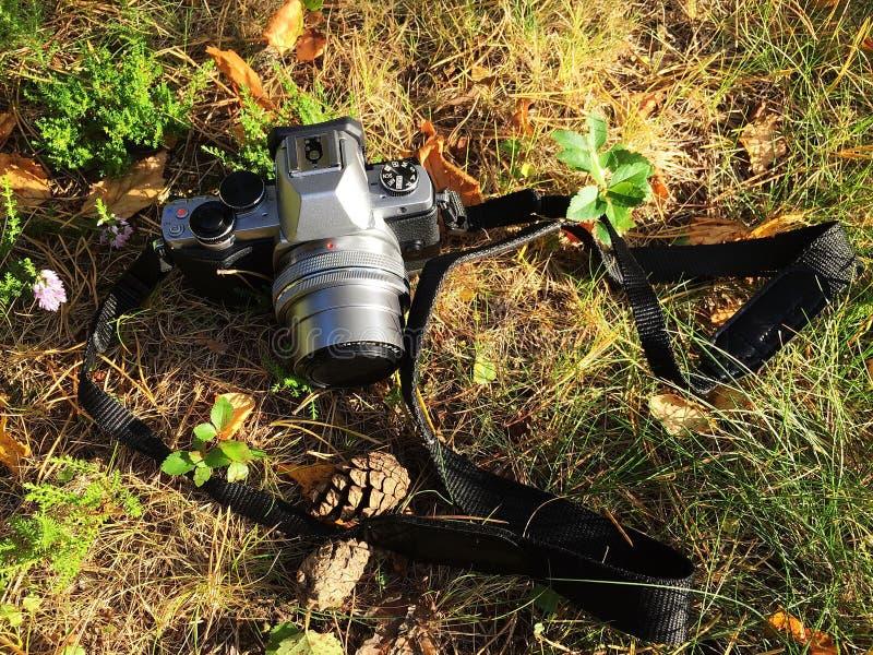 Plan rapproché d'appareil photo numérique Caméra pour des amateurs et des professionnels details photo libre de droits