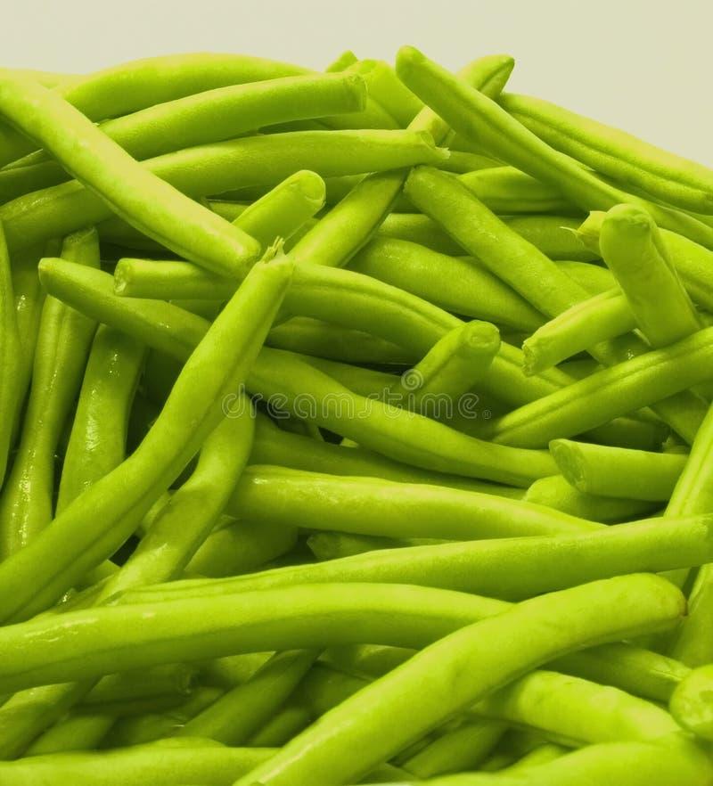 Plan rapproché d haricot vert