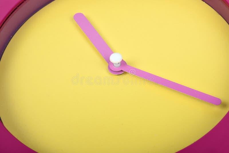 Download Plan rapproché d'horloge photo stock. Image du instruction - 76081210