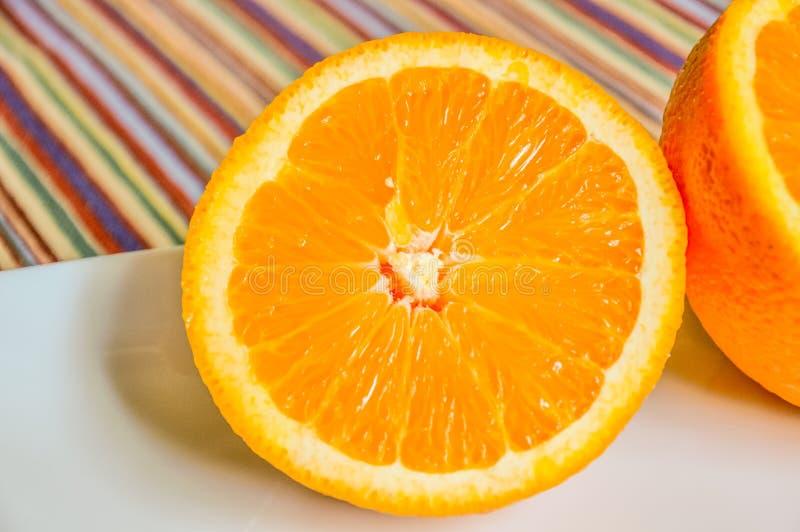 Download Plan Rapproché D'orange Découpé En Tranches Dans La Moitié Image stock - Image du casse, sphérique: 77157487