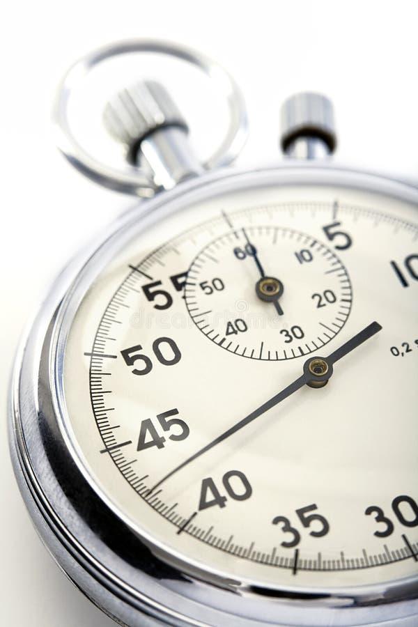 Plan rapproché d'un chronomètre images libres de droits