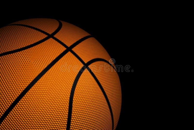 Plan rapproché de basket-ball illustration de vecteur