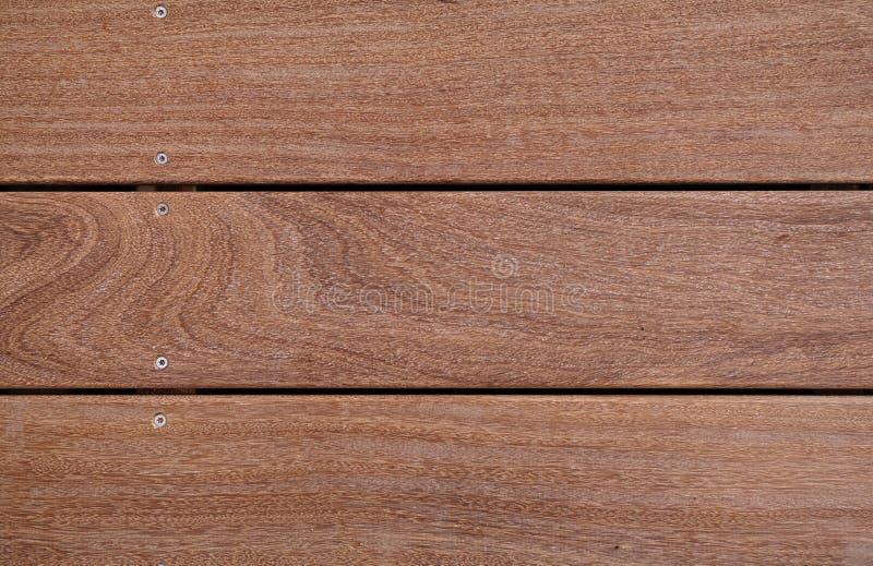 Plan rapproché de bois dur de cumaru photographie stock libre de droits