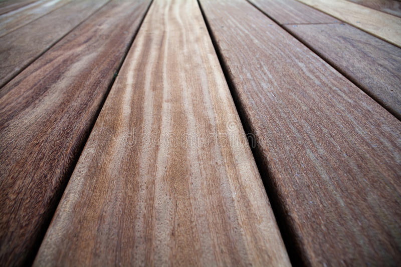 Plan rapproché de bois dur de cumaru image libre de droits