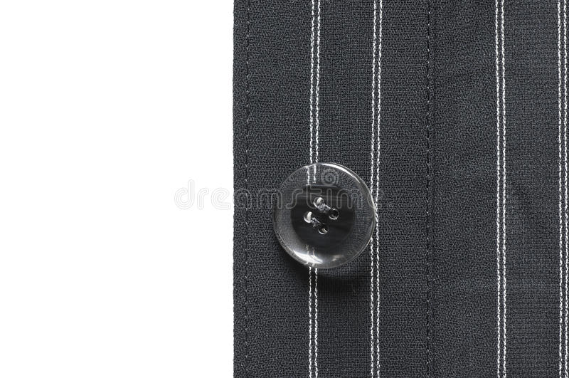 Plan rapproché de bouton de costume photos stock