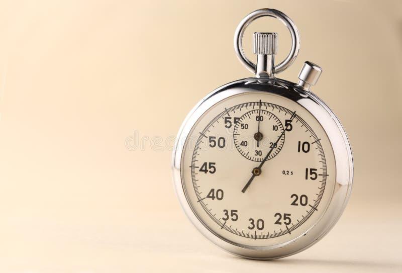 Plan rapproché de chronomètre photographie stock libre de droits