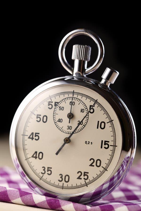 Plan rapproché de chronomètre photographie stock
