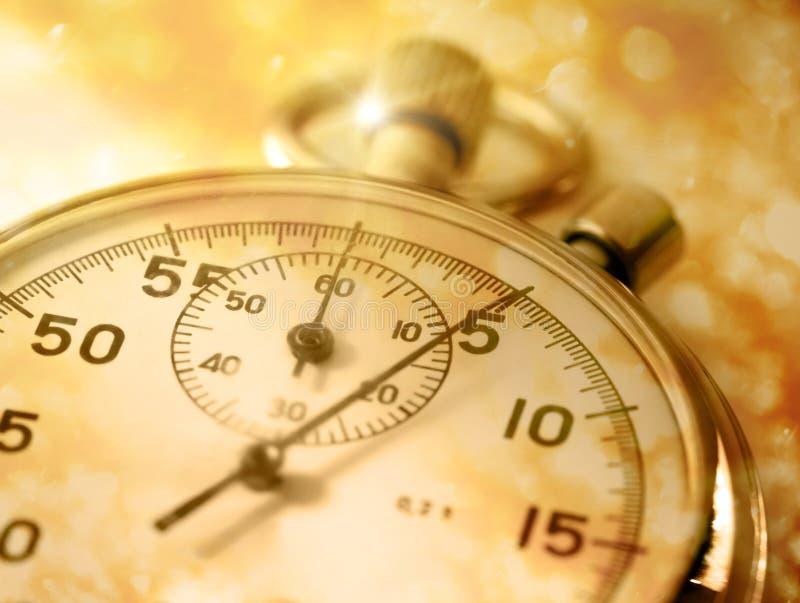 Plan rapproché de chronomètre images stock