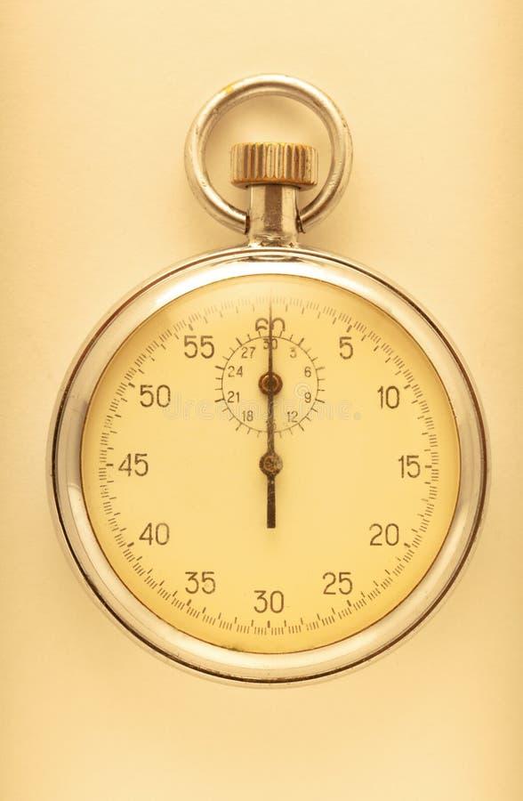 Plan rapproché de chronomètre photos libres de droits