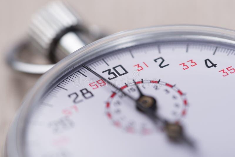 Plan rapproché de chronomètre photo libre de droits