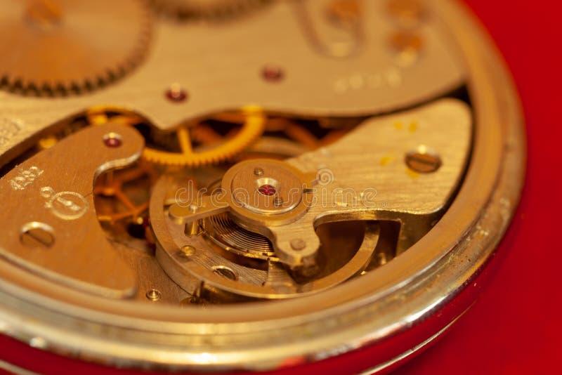 Plan rapproché de chronomètre de cru photos stock