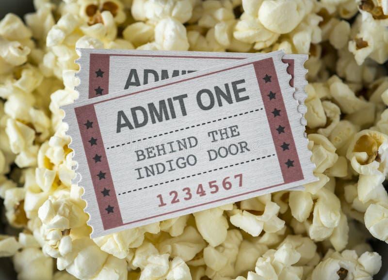 Plan rapproché de cinéma et de concept de divertissement de film photo libre de droits