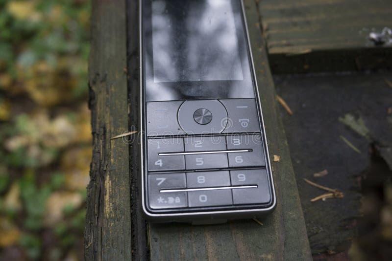 Plan rapproché de clavier numérique de téléphone portable photo stock