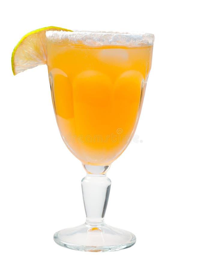 Plan rapproché de cocktail de citron images libres de droits