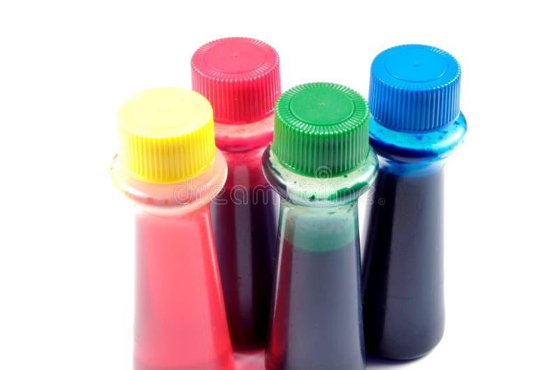 Plan rapproché de coloration de nourriture image libre de droits