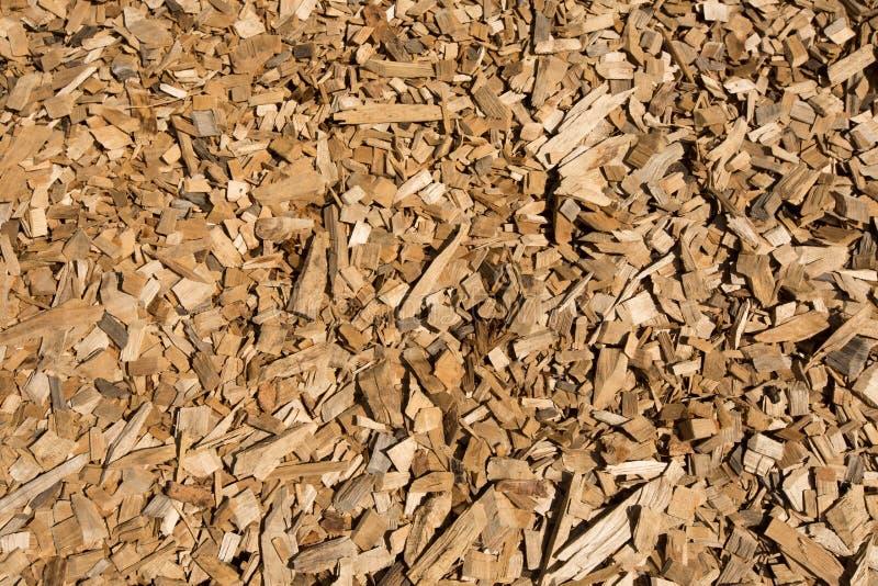 Plan rapproché de déchets de bois image stock