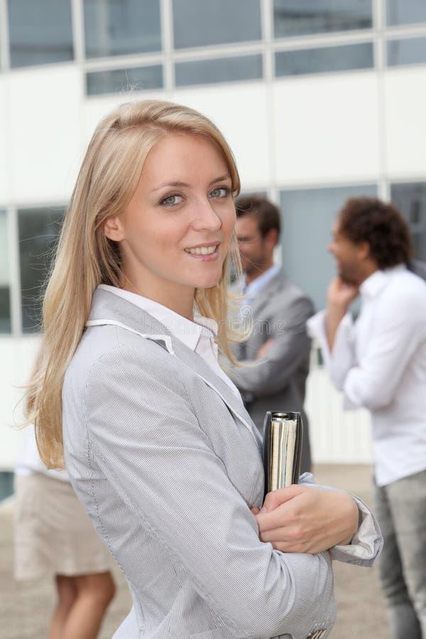 Plan rapproché de femme d'affaires images libres de droits