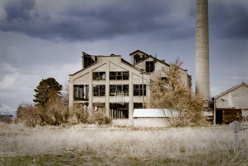 Plan rapproché de Franklin County Sugar Factory image libre de droits