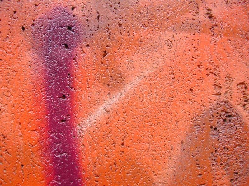 Plan rapproché de graffiti image libre de droits