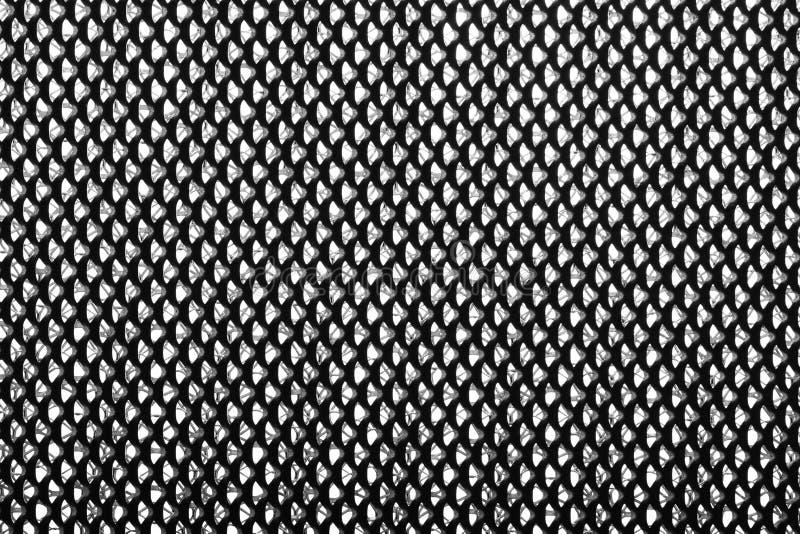 Plan rapproché de grille en métal Détails de filtre à air Fond industriel abstrait photographie stock libre de droits