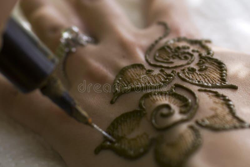 Plan rapproché de henné photos stock