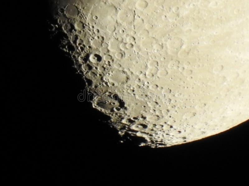 Plan rapproché de la lune photos libres de droits