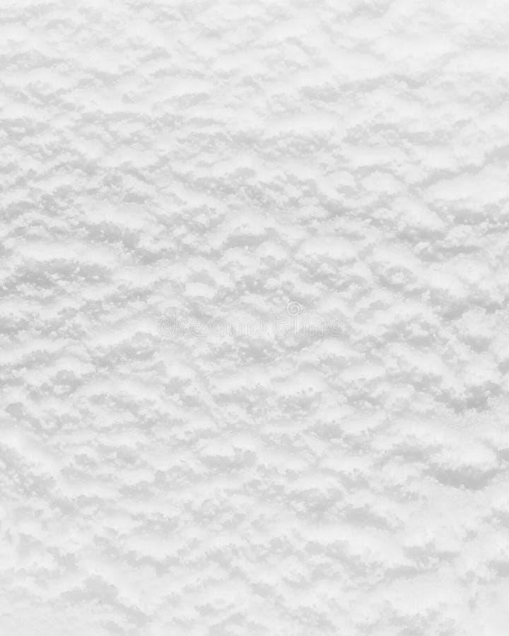 Plan rapproché de la surface blanche de crème glacée  photographie stock