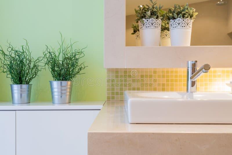 Plan rapproché de lavabo photographie stock