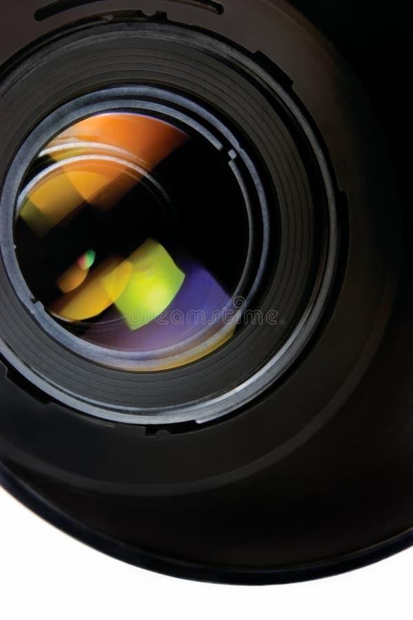 Plan rapproché de lentille et de capot images libres de droits