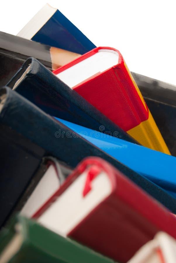 Plan rapproché de livres photos stock