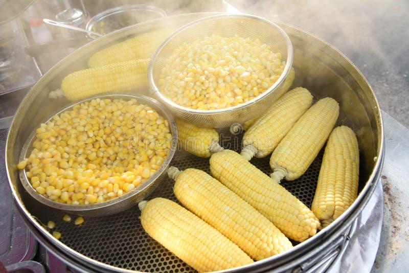 Plan rapproché de maïs photographie stock